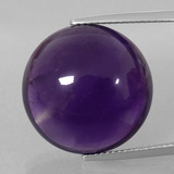 thumb image of 22.8ct Round Cabochon Violet Amethyst (ID: 393221)