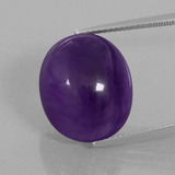 thumb image of 20.1ct Oval Cabochon Violet Amethyst (ID: 393355)