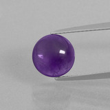 thumb image of 2.8ct Round Cabochon Violet Amethyst (ID: 397932)