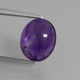 thumb image of 3.4ct Oval Cabochon Violet Amethyst (ID: 409462)
