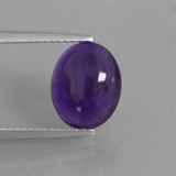 thumb image of 4.1ct Oval Cabochon Violet Amethyst (ID: 409723)