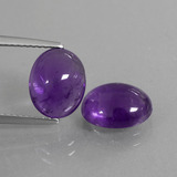 thumb image of 5ct Oval Cabochon Violet Amethyst (ID: 409940)