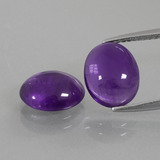 thumb image of 4.4ct Oval Cabochon Violet Amethyst (ID: 410227)