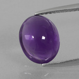 thumb image of 2.3ct Oval Cabochon Violet Amethyst (ID: 410285)