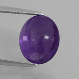 thumb image of 5.2ct Oval Cabochon Violet Amethyst (ID: 410832)