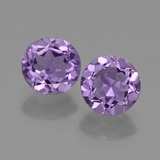 thumb image of 1.3ct Round Facet Violet Amethyst (ID: 421769)