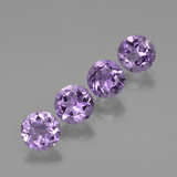 thumb image of 2.5ct Round Facet Violet Amethyst (ID: 421800)