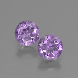 thumb image of 1.3ct Round Facet Violet Amethyst (ID: 422162)