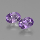 thumb image of 1.4ct Oval Facet Violet Amethyst (ID: 426540)