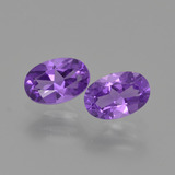 thumb image of 0.9ct Oval Facet Violet Amethyst (ID: 427064)