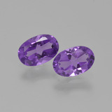 thumb image of 0.8ct Oval Facet Violet Amethyst (ID: 427093)