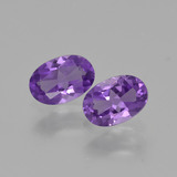 thumb image of 0.8ct Oval Facet Violet Amethyst (ID: 427097)