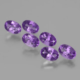 thumb image of 2.6ct Oval Facet Violet Amethyst (ID: 427229)