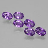thumb image of 2.4ct Oval Facet Violet Amethyst (ID: 427232)