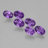 thumb image of 2.6ct Oval Facet Violet Amethyst (ID: 427233)