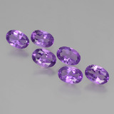 thumb image of 2.4ct Oval Facet Violet Amethyst (ID: 427269)
