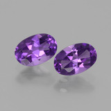 thumb image of 0.9ct Oval Facet Violet Amethyst (ID: 427313)