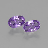 thumb image of 0.9ct Oval Facet Violet Amethyst (ID: 427499)