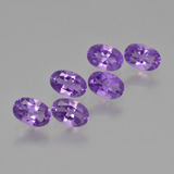 thumb image of 2.5ct Oval Facet Violet Amethyst (ID: 427538)