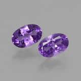 thumb image of 0.9ct Oval Facet Violet Amethyst (ID: 427618)