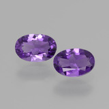 thumb image of 0.9ct Oval Facet Violet Amethyst (ID: 427724)