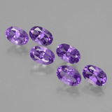 thumb image of 2.6ct Oval Facet Violet Amethyst (ID: 427741)