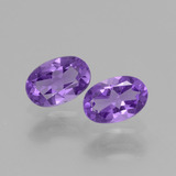 thumb image of 0.8ct Oval Facet Violet Amethyst (ID: 427778)
