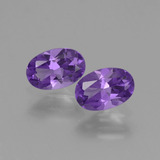 thumb image of 0.8ct Oval Facet Violet Amethyst (ID: 427781)