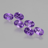 thumb image of 2.5ct Oval Facet Violet Amethyst (ID: 427903)
