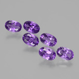 thumb image of 2.6ct Oval Facet Violet Amethyst (ID: 430234)