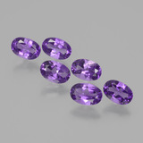 thumb image of 2.5ct Oval Facet Violet Amethyst (ID: 430239)