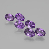 thumb image of 0.4ct Oval Facet Violet Amethyst (ID: 430835)