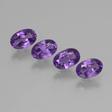 thumb image of 1.7ct Oval Facet Violet Amethyst (ID: 432878)