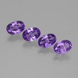thumb image of 1.7ct Oval Facet Violet Amethyst (ID: 432998)