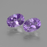 thumb image of 1.4ct Oval Facet Violet Amethyst (ID: 434819)