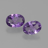 thumb image of 1.2ct Oval Facet Violet Amethyst (ID: 434884)