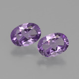 thumb image of 1.4ct Oval Facet Violet Amethyst (ID: 434885)
