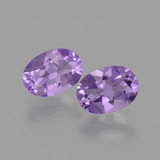 thumb image of 1.5ct Oval Facet Violet Amethyst (ID: 434902)