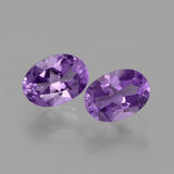 thumb image of 1.4ct Oval Facet Violet Amethyst (ID: 434907)