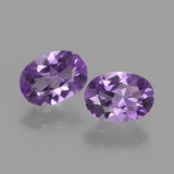 thumb image of 1.3ct Oval Facet Violet Amethyst (ID: 434964)