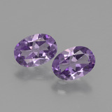thumb image of 1.2ct Oval Facet Violet Amethyst (ID: 434968)
