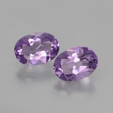 thumb image of 1.3ct Oval Facet Violet Amethyst (ID: 434983)