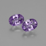thumb image of 1.3ct Oval Facet Violet Amethyst (ID: 435050)