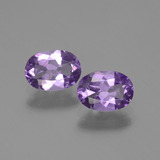 thumb image of 1.4ct Oval Facet Violet Amethyst (ID: 435068)