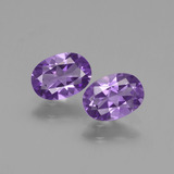 thumb image of 1.3ct Oval Facet Violet Amethyst (ID: 435131)