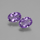 thumb image of 1.1ct Oval Facet Violet Amethyst (ID: 435156)