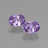 thumb image of 0.8ct Oval Facet Violet Amethyst (ID: 435160)