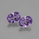 thumb image of 1.3ct Oval Facet Violet Amethyst (ID: 435270)