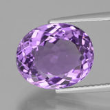 thumb image of 5.6ct Oval Facet Violet Amethyst (ID: 435360)