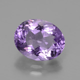 thumb image of 3.1ct Oval Facet Violet Amethyst (ID: 435441)